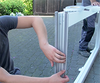 Haustur Einbau Vorbereiten Fensterhai