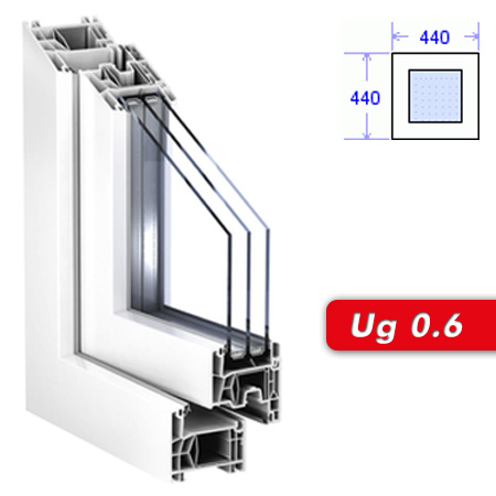 fenster g nstig online kaufen 44 x 44 cm ug 0 6 fest. Black Bedroom Furniture Sets. Home Design Ideas